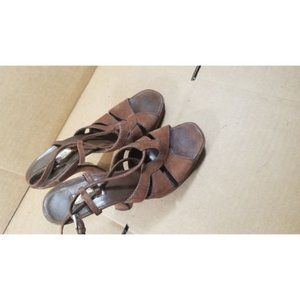 All leather Prada Sandals 37